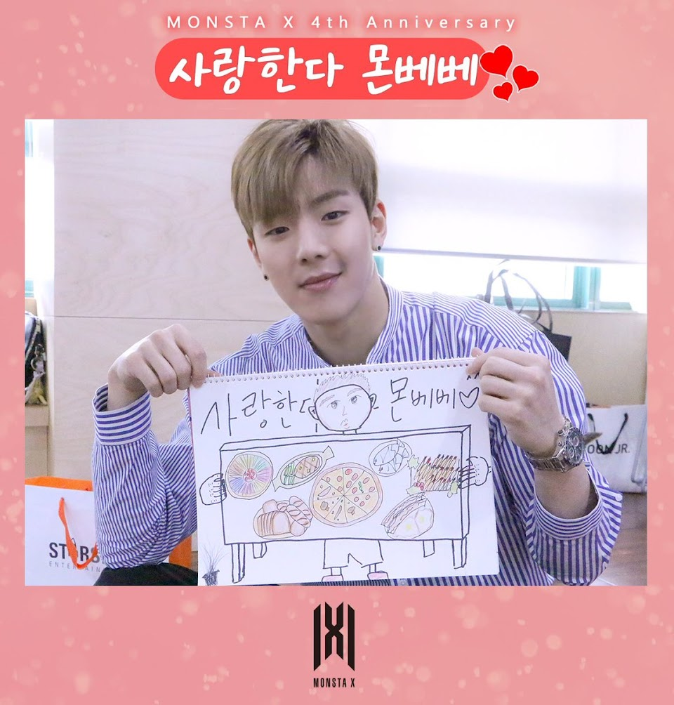 MONSTA X_DRAWING_SHOWNU