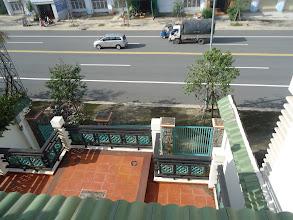 Photo: đường chụp từ lầu 2 xuống