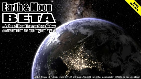 3d Parallax Weather Live Wallpaper Earth Amp Moon In Hd Gyro 3d Parallax Live Wallpaper