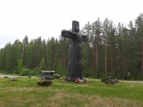 Photo: Крест скорби Россия-Финляндия