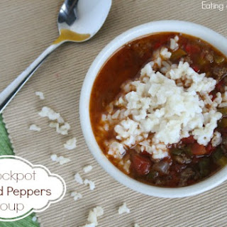 Crockpot Stuff Pepper Soup.