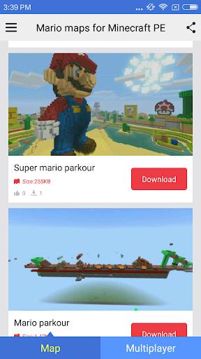 玩免費個人化APP|下載Mario maps for Minecraft PE app不用錢|硬是要APP