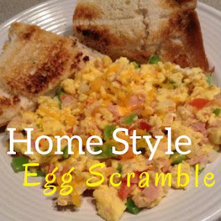 Home Style Egg Scramble