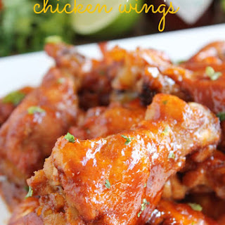Hometown Honey Chipotle Chicken Wings.