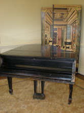 Photo: Steinway piano. Fisk has about 109 of them on campus.