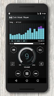 Dub Music Player + Equalizer- screenshot thumbnail
