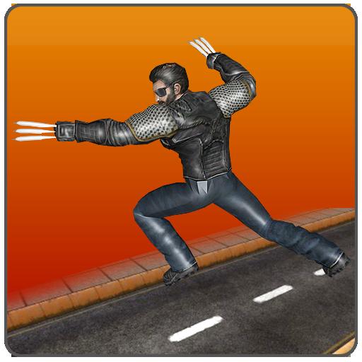 Claws Superhero: Blades Fighting Mafia City Wars