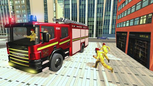 911 Fire Rescue Truck Driver Simulator 2018 1.0.2 screenshots hack proof 1