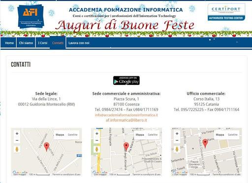 Accademia Formazione Inform 1.0 screenshots 6