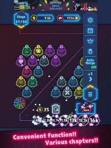 NeonMergeDefence 1.3.2 screenshots 16