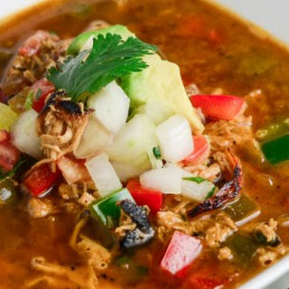 Blackened Chicken Fajita Soup