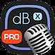 デシベル X PRO: dBA デシベルテスター, FFT アナライザー