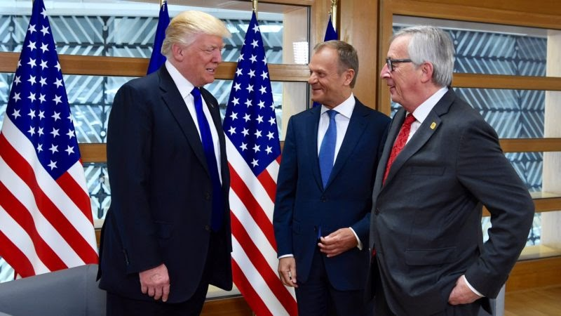 Trump succeeds in bringing EU to trade talks