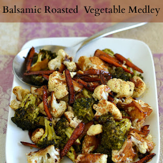 Balsamic Roasted Vegetable Medley.