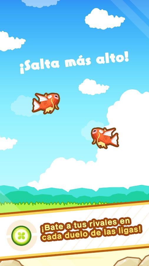 Pokémon: Magikarp Jump: captura de pantalla