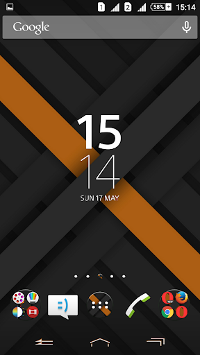 Xperien Theme X-Orange 2.0