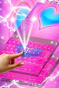Zdarma 2017 růžová klávesnice - náhled