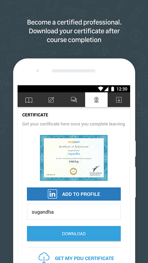 Simplilearn Courses & Tutorials- screenshot