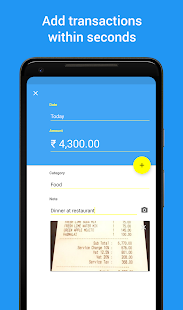 Monito - Expense Manager - náhled