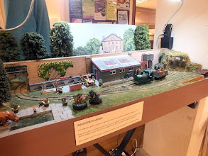 Photo: 009 Willoughby's Garden is a group owned 0-16.5 layout , inspired by the 2ft gauge Cadeby Light Railway that the late Rev Teddy Boston built around the garden of his rectory in the village of Cadeby in Leicestershire .