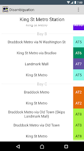 Alexandria DASH Bus Schedule- screenshot thumbnail