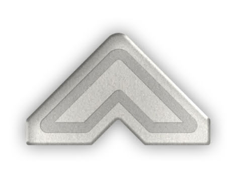 Scrapbook Adhesives 3L Photo Corners 108/Pkg - Silver
