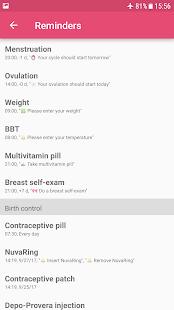App WomanLog Calendar APK for Windows Phone