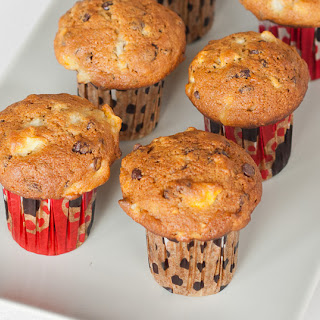 Pear and Chocolate Chip Muffins.