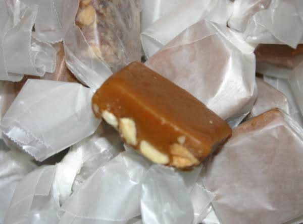 Caramels With Roasted, Salted Almonds Recipe