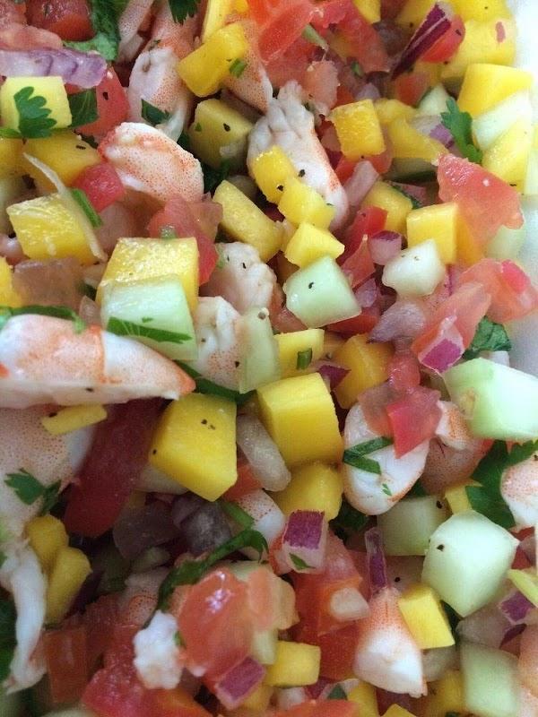 Mango Shrimp Ceviche Recipe