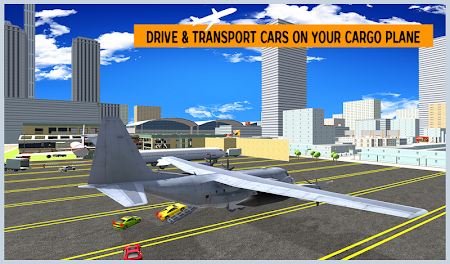 Airplane City Car Transporter 1.0 screenshot 1758575
