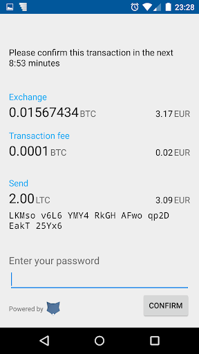 Coinomi Wallet :: Bitcoin Ethereum Altcoins Tokens screenshot 7