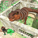 Dino Prison Escape Missions -Jurassic City Rampage icon