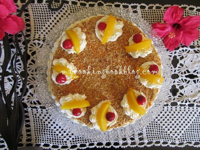 Торта Нугатина (Νουγκατίνα)