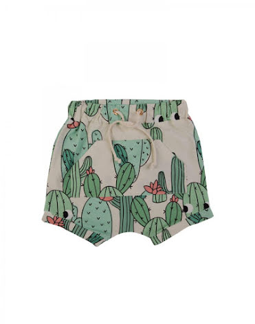 Dear Sophie Green Cactus Shorts