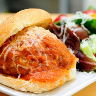 Puttanesca Meatball Sliders