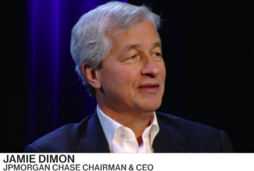 High corporate taxes depress wage growth, says J.P. Morgan-Chase CEO
