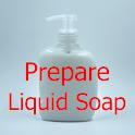 How to prepare liquid soap icon