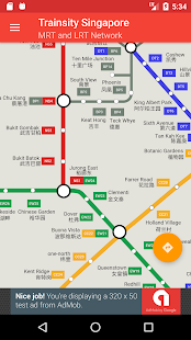 Trainsity Singapore MRT- screenshot thumbnail