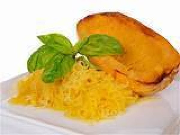 I used some leftover spaghetti squash from dinner the day before..to prepare  the...