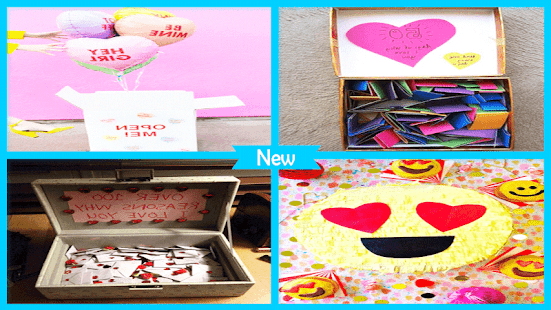 Awesome DIY Valentine Surprise Box - náhled