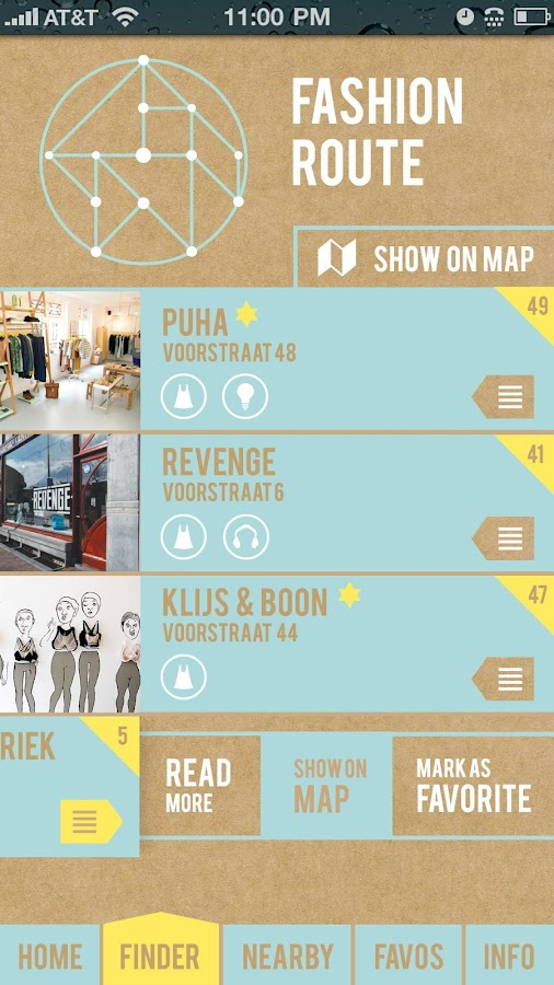 Puha Shop Route 2015- screenshot