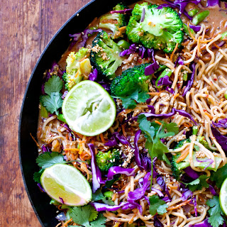 Spicy Thai Veg Noodles.