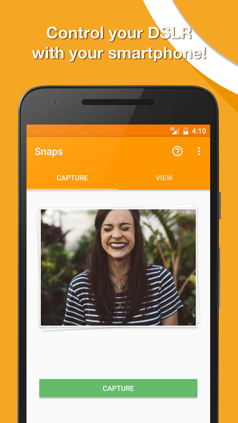 Snaps 🚀 DSLR Remote Screenshot
