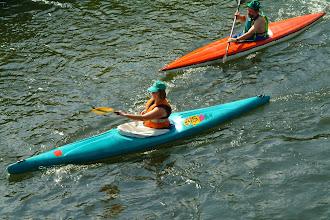 Photo: inni też dopływają
