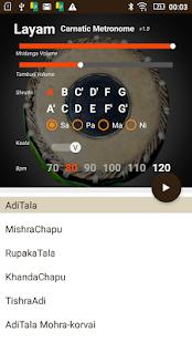 Layam - Carnatic Metronome Lite - náhled