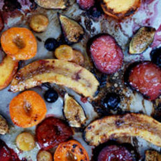 Broiled Summer Fruit with Anise-Honey Butter