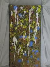 Photo: Ice Pond Oil 30cmx60cm $60