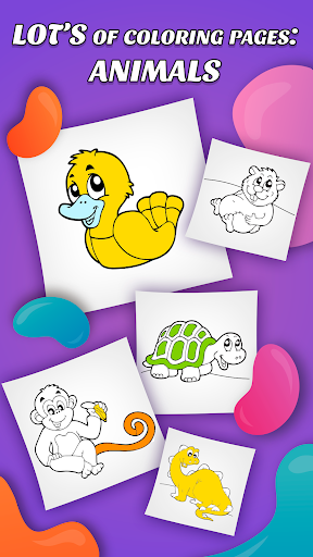 ud83dudd8cufe0f Coloring Pages: Animals - for Kids and Family cheat screenshots 3
