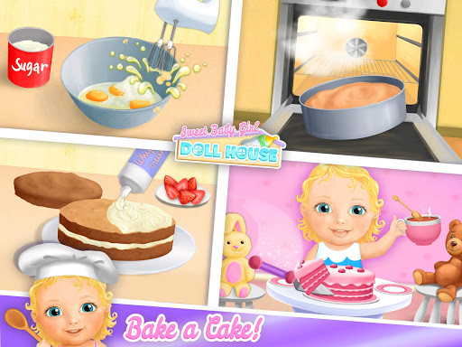 Sweet Baby Girl Doll House - Play, Care & Bed Time 1.0.76 screenshots 15